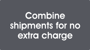 Combine shipments for no extra charge